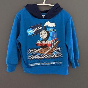 Thomas the train blue hoodie